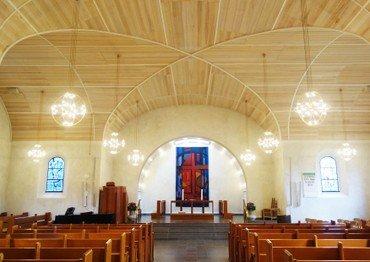Virum Kirke indefra