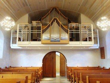 Virum Kirkes orgel
