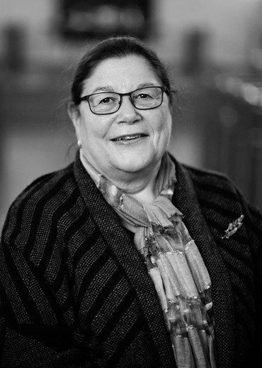 Foto af menighedsrådsformand Uni Isenstein Nielsen