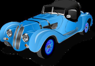 Tegning af en bil