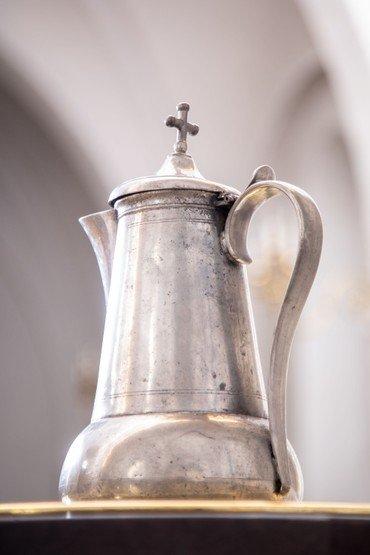 Nadver kanden i Vindinge kirke