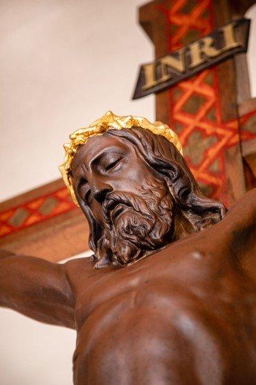 Alterfigur i Vindinge kirke