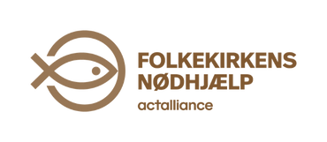 Folkekirkens nødhjælps logo