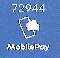 MobilePay nr. 72944