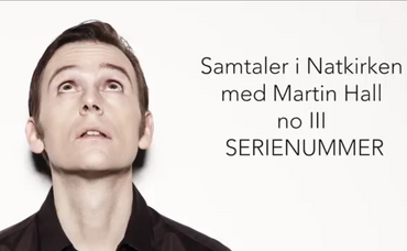 Billede af Martin Hall fra videoen Efterladt fra Sct. Lukas Facebookside.
