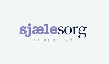 Banner med teksten: SjæleSorg - Omsorg for din sjæl