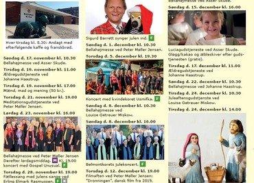 Bellahøj kirkes kalender