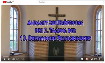 Reinickendorfer Kreissynode Andacht 14.11.2020