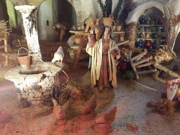 Voksfigur fra julelegenden