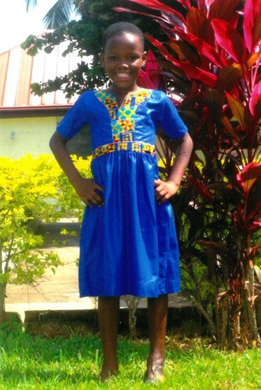 Billede af SOS barn Evelyn