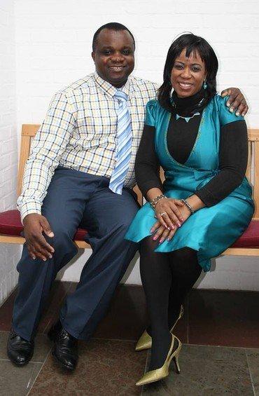 Emmanuel Okoye og Joy Larsen