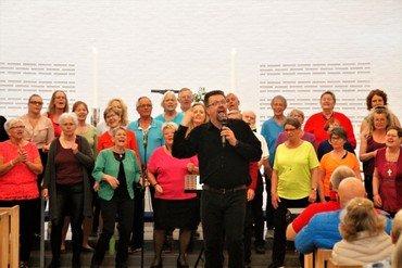 IceGlory synger i Vejleå Kirke
