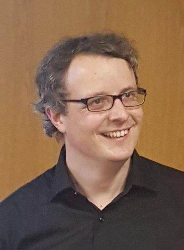 billede af organist Eigil Møller