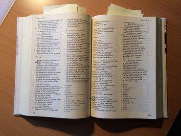 En opslået Bibel