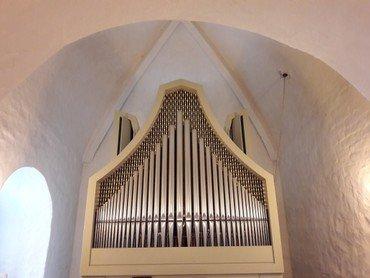 Billede af Humlum kirkes Orgel