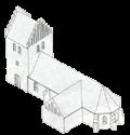 Kirken ca. år 1500
