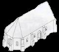 Sengotisk kirke ca. år 1300