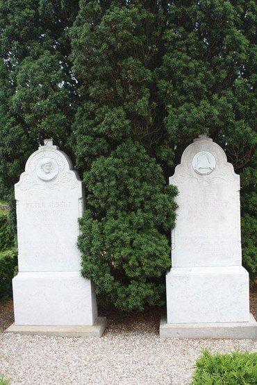 Typisk gravsten i 1800-tallet