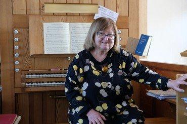 Organist Eva Maria Jensen