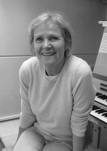 Foto af organist Charlotte Schiøtz