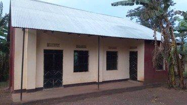 Foto: Børnehuset i Kyerwa set udefra august 2019