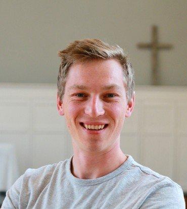 Billede af sognepræst Christian Primdal Medom