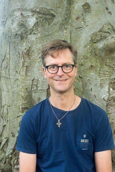 Billede af sognepræst Peter Ø. Jacobsen