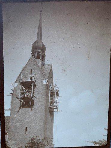 Opsætning af tårnur 1920
