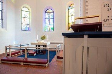 Kirkerummet anno 2019 - Vanløse Kirke